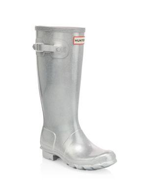 Girl's Original Cosmic Metallic Waterproof Boots