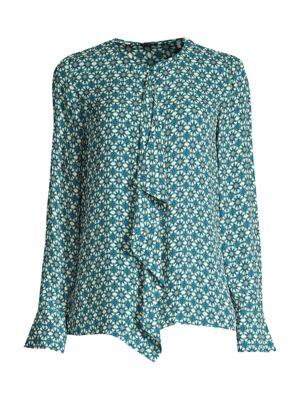 Pernilla Ruffle Printed Shirt
