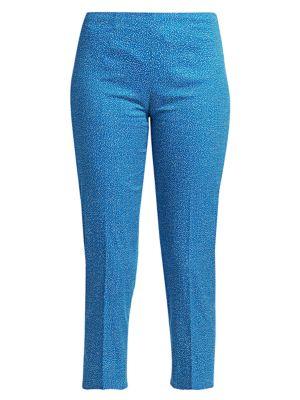 Audrey Micro Dot Cropped Pants