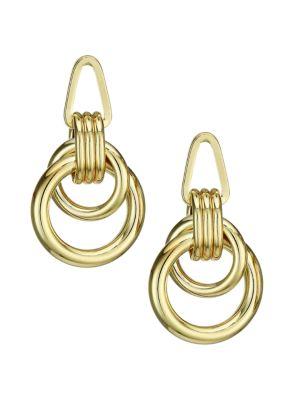 Roped Up Double Hoop Earrings