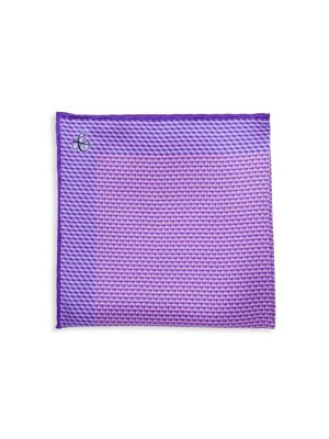 Mini Deco Silk Pocket Square