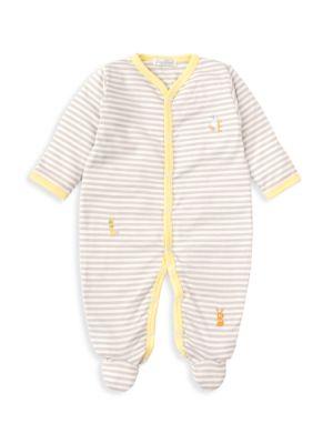 Baby's Alphabet ABC's Stripe One-Piece