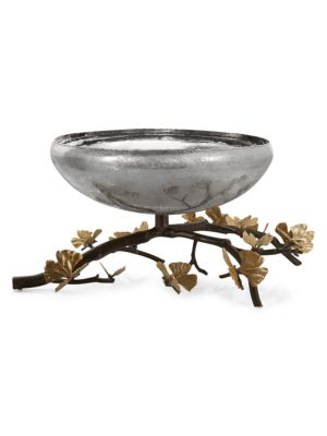 Butterfly Ginkgo Centerpiece Bowl