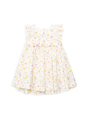 Baby Girl's Ruffled Floral Dress