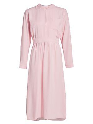 Raso Keyhole Midi Dress