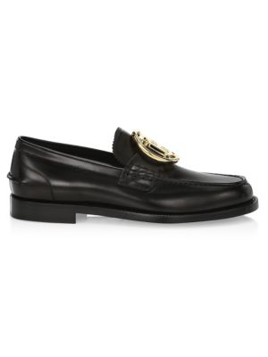 TB Leather Loafers