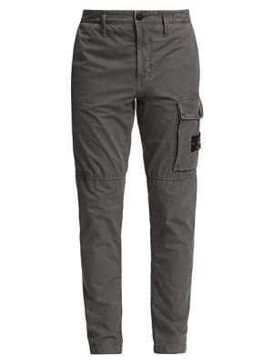 Slim-Fit Military Cargo Pants