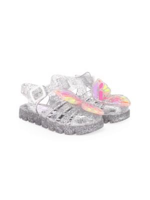 Baby's, Little Girl's & Girl's Butterfly Jelly Sandals