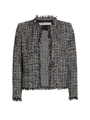 Shavani Metallic Tweed Jacket