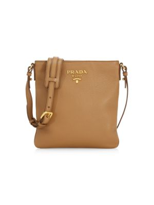 Small Diano Leather Crossbody Bag