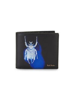 Beetle Billfold Leather Wallet