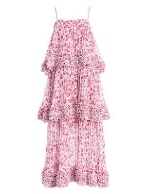 Nicola Tiered Midi Dress