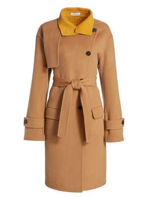 Coach 1941 Oversized Stormflap Wool Coat