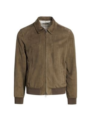 Waterfall Suede Bomber