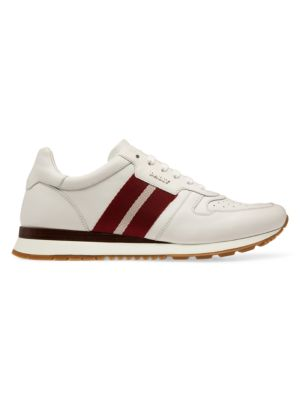 Astel Striped Leather Sneakers