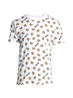 Allover Bear Logo T-Shirt