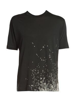 Tattoo Fit Bleached T-Shirt