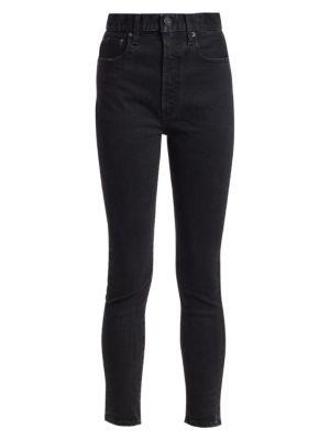 Super High-Rise Filer Skinny Jeans