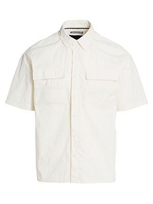Utility Mesh Pocket Shirt