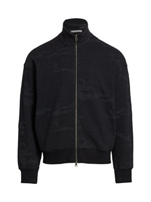 Novelty Terry Zip-Up Jacket