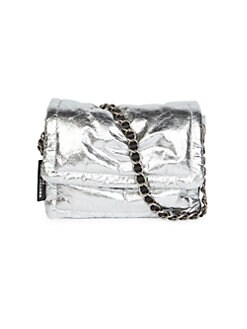 Marc Jacobs The Pillow Metallic Leather Crossbody Bag