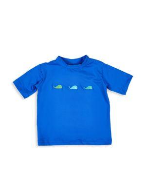 Baby Boy's Whale Short-Sleeve Rashguard