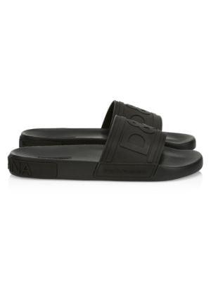 Saint Barth Rubber Slide Sandals