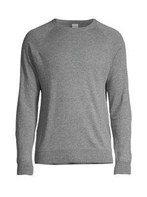 Raglan-Sleeve Knit Pullover