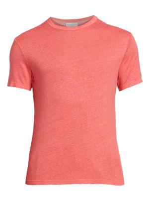 Pigment Dyed Linen T-Shirt