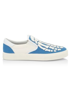 Skeleton Slip-On Sneakers