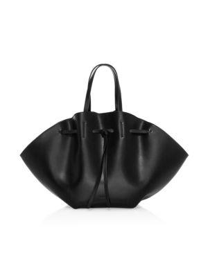 Lynne Leather Top Handle Bag