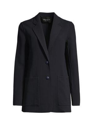 Annmarie Stretch Virgin-Wool Jacket
