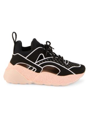 Eclypse Chunky Cutout Lace-Up Sneakers