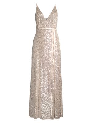 The Kirrily Sequin Wrap Dress