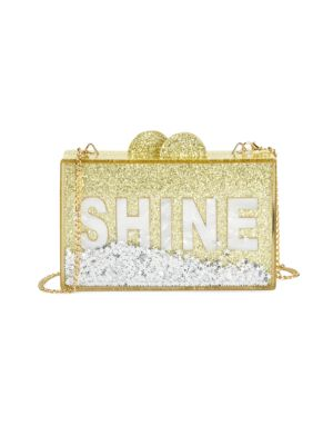 Shine Glitter Acrylic Box Bag
