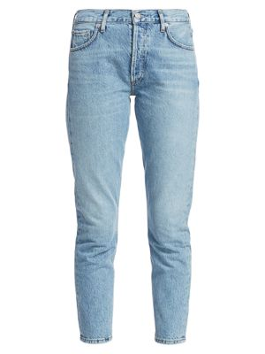 Jamie High-Rise Classic-Fit Ankle Jeans