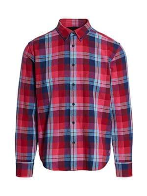 Fit 2 Tomlin Plaid Shirt