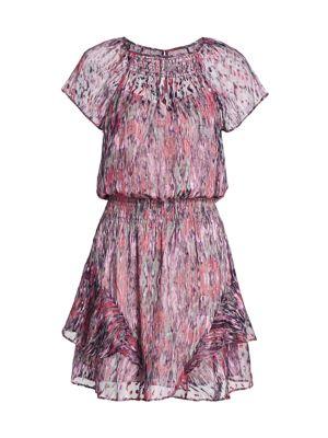 Bati Smocked Waist Mini Dress