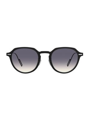 DiorDisappear1 49MM Round Sunglasses