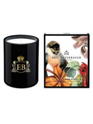 Oud Saffron Flower Scented Candle