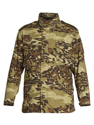 Military Camouflage Parka