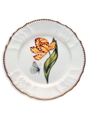Old Master Tulip Porcelain Salad Plate