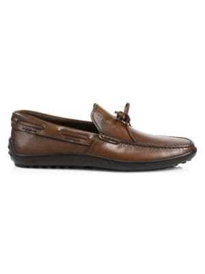 Laccetto Leather Boat Shoes
