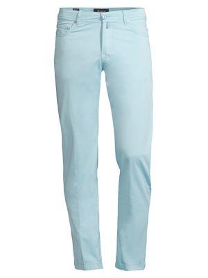 Straight-Fit Five-Pocket Pants