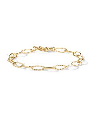 Stax 18K Yellow Gold Oval-Link Bracelet