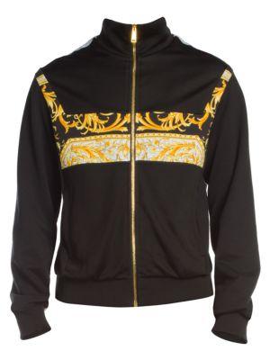Baroque Logo Track Jacket