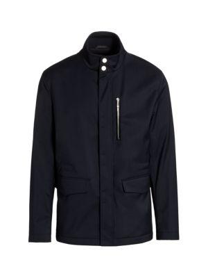 Water Repellent Wool Jacket
