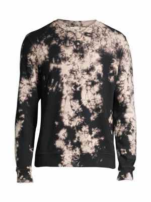 Marble Print Pullover