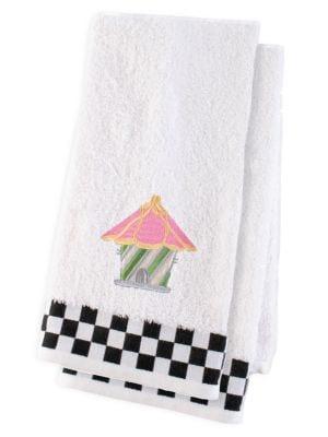 Bird House 2-Piece Hand Towel Set