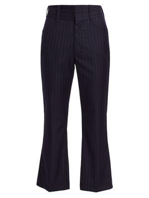 70s Pinstripe Wool Trousers
